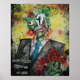 Novios del zombi póster