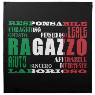Novios italianos: Calidades Servilletas De Papel