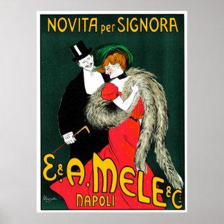 Novita per Signora 1903 ~ Vintage Italian Posters