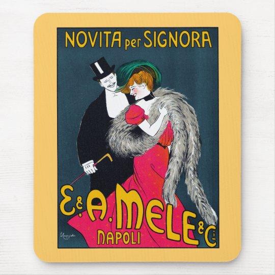 Novita per Signora, E. & A. Mele & Ci., 1903 Mouse Pad