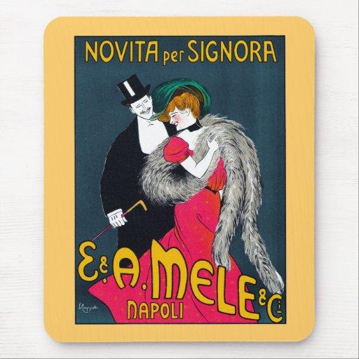 Novita per Signora, E. & A. Mele & Ci., 1903 Mousepads