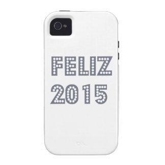 Novo del ano de Feliz iPhone 4 Fundas