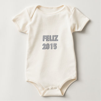 Novo del ano de Feliz Trajes De Bebé