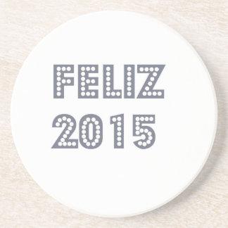 Novo del ano de Feliz Posavasos Cerveza
