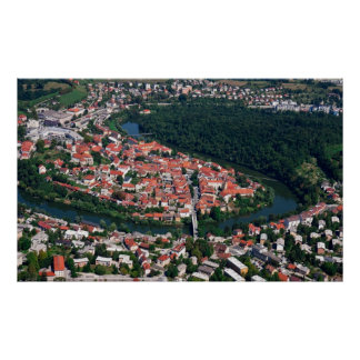 Novo Mesto Slovenia Poster