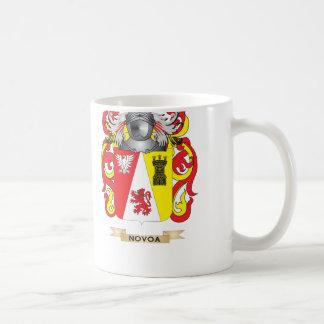 Novoa Coat of Arms (Family Crest) Coffee Mug