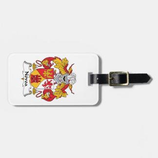 Novoa Family Crest Bag Tag
