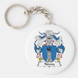 Novoa Family Crest Key Chains