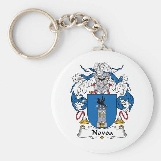 Novoa Family Crest Keychain
