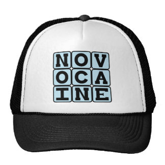 Novocaine, Dental Anesthetic Trucker Hat