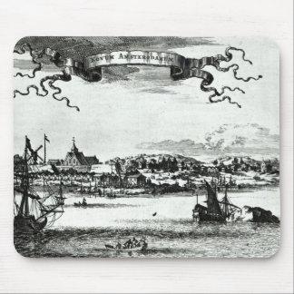 Novum Amsterodamum, c.1667 Mouse Pad