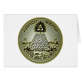 Novus Ordo Seclorum Card