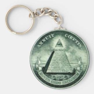 Novus Ordo Seclorum Key Chain