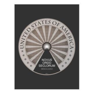 Novus Ordo Seclorum Postcard