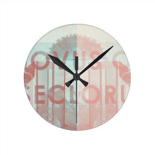 Novus Ordo Seclorum Reloj Redondo Mediano