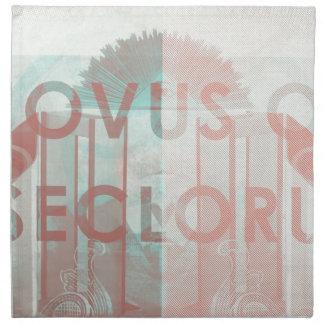 Novus Ordo Seclorum Servilletas