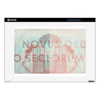 "Novus Ordo Seclorum 15"" Laptop Decals"