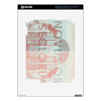Novus Ordo Seclorum Decal For iPad 3