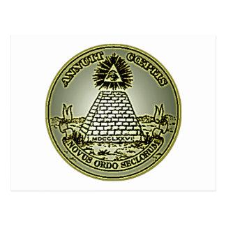 Novus Ordo Seclorum Tarjeta Postal