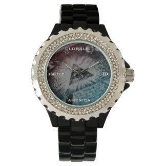Novus Ordo Seclorum – Time for World Domination Wristwatch