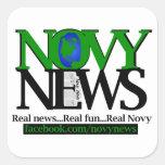 Novy News Square Sticker