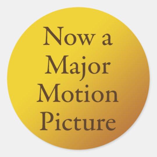 Bildergebnis für now a major motion picture sticker