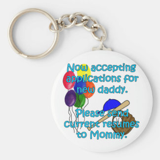 Now Accepting Applications... Basic Round Button Keychain