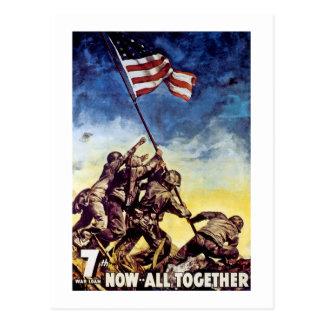 Now All Together ~ Iwo Jima Postcard