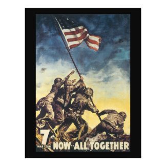 Now All Together World War 2 Flyer