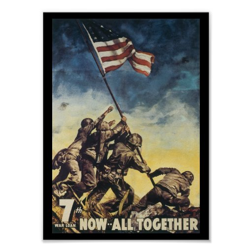 Now All Together World War 2 Poster   Zazzle