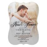 Now and Forever Photo Wedding Invitations Custom Invitation