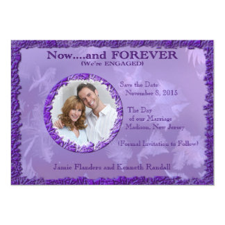 Now and Forever - Save the Date Card
