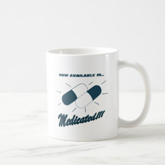 Now Available in Medicated! Classic White Coffee Mug