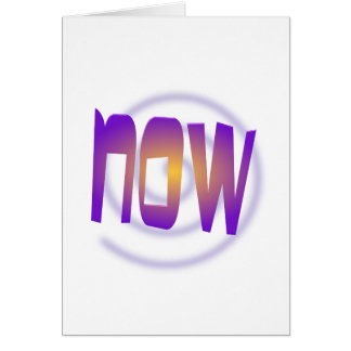 now card