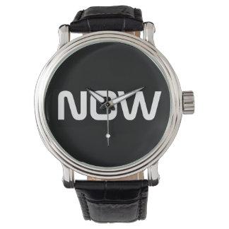Now Classy Elegant Black Wrist Watches