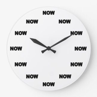 Now Clock (White) #1