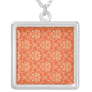 Now Congratulation Exuberant Refreshing Square Pendant Necklace