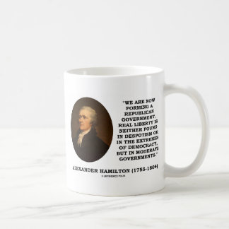 Now Forming A Republican Government Real Liberty Mug