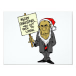 Now Get Back To Work Christmas Boss 4.25x5.5 Paper Invitation Card