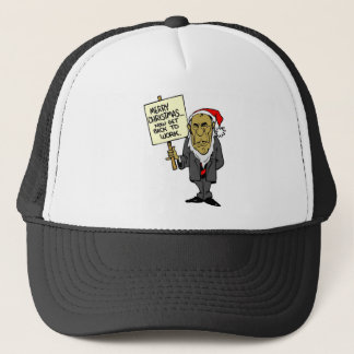Now Get Back To Work Christmas Boss Trucker Hat