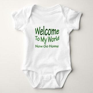 Now Go Home grn Baby Bodysuit