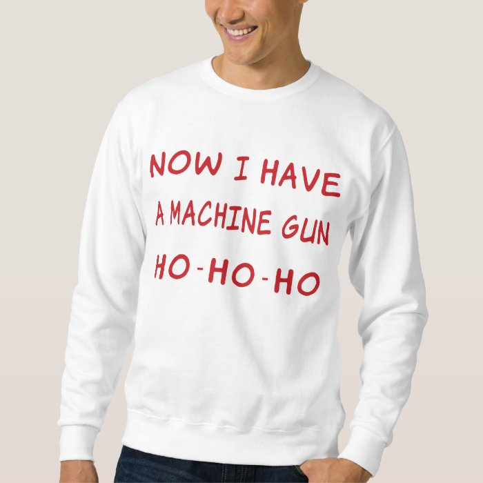 now i a machine gun