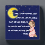 "Now I Lay Me Down To Sleep Plaque<br><div class=""desc"">An adorable plaque that is perfect for a child&#39;s room.  This is a cute way to teach your child this little night time prayer.</div>"