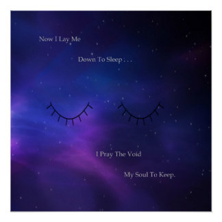 Now I Lay Me Poster