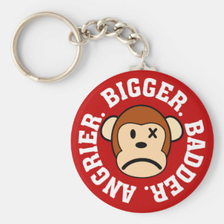 Now I'm Even Bigger Badder and Angrier Than Before Keychain
