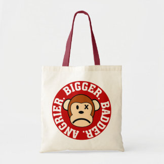 Now I'm Even Bigger Badder and Angrier Than Before Tote Bag
