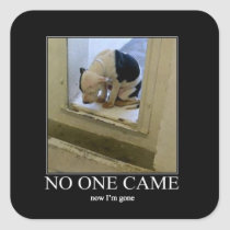 Now I'm Gone Animal Rescue Stickers