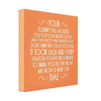 Now is right on time: Printed Canvas