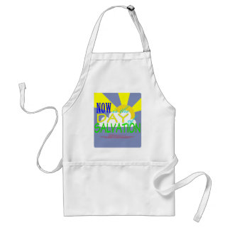 Now is the day of Salvation - 2 Corinthians 6:2 Adult Apron