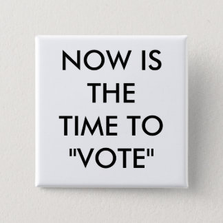 """NOW IS THE TIME TO """"VOTE"""" BUTTON"""